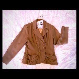 Gorgeous 1940s Camel Blazer in Mint Condition
